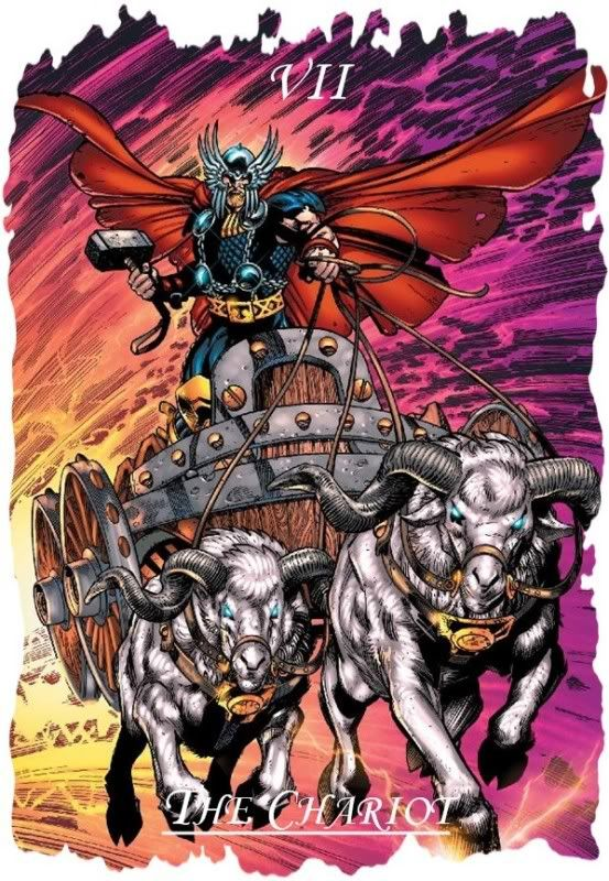Tarot Superheroes Villains Other Comic Book Characters: Tarot Cards The Chariot - Google Search