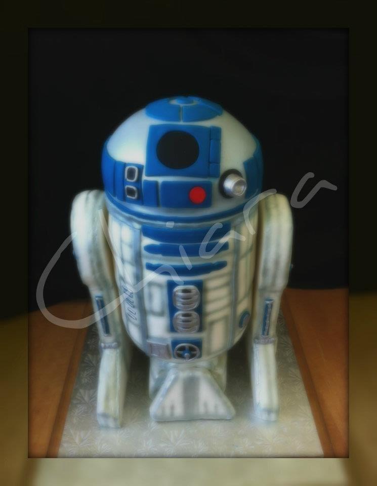 Starr wars R2D2  theme cake