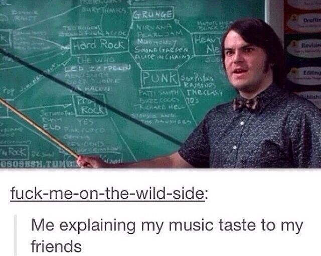 Funny Rock Music Meme : School of rock bands rock school and what s