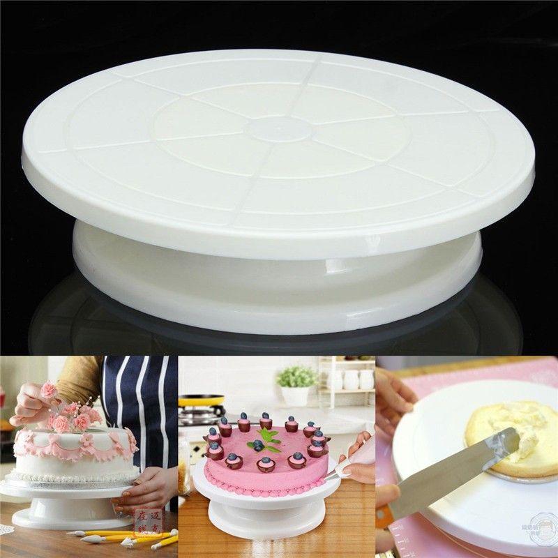 Home & Garden Trustful Cake Decorating Tools Rotating Cake Stand Sugarcraft Turntable Decorating Stand Platform Cupcake Stand Cake Plate Tools