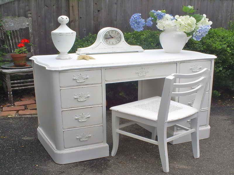 shabby chic furniture nyc. Shabby Chic Desk | NYC Furniture: Furniture With White Nyc