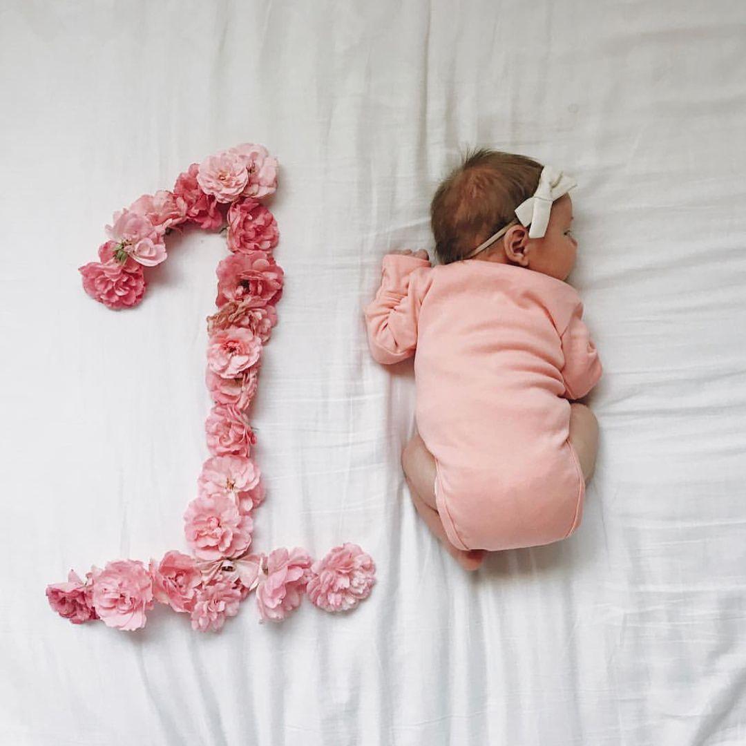 Открытки дочери 1 месяц