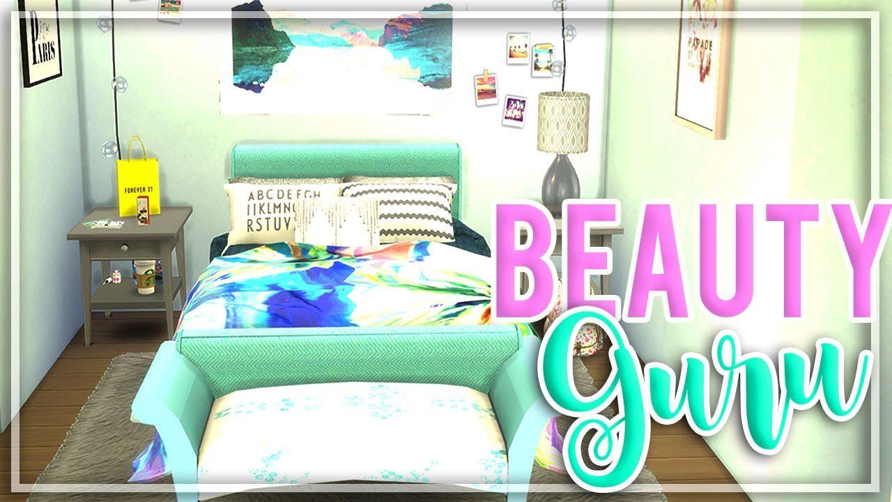 The Sims 4 Beauty Guru Bedroom Room Build Room