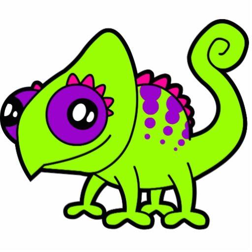 Disenos De Camaleones Camaleon Del Dibujo Animado Verde Escultura Fotografica Monstruo De Fantasia Camaleon Dibujos Animados