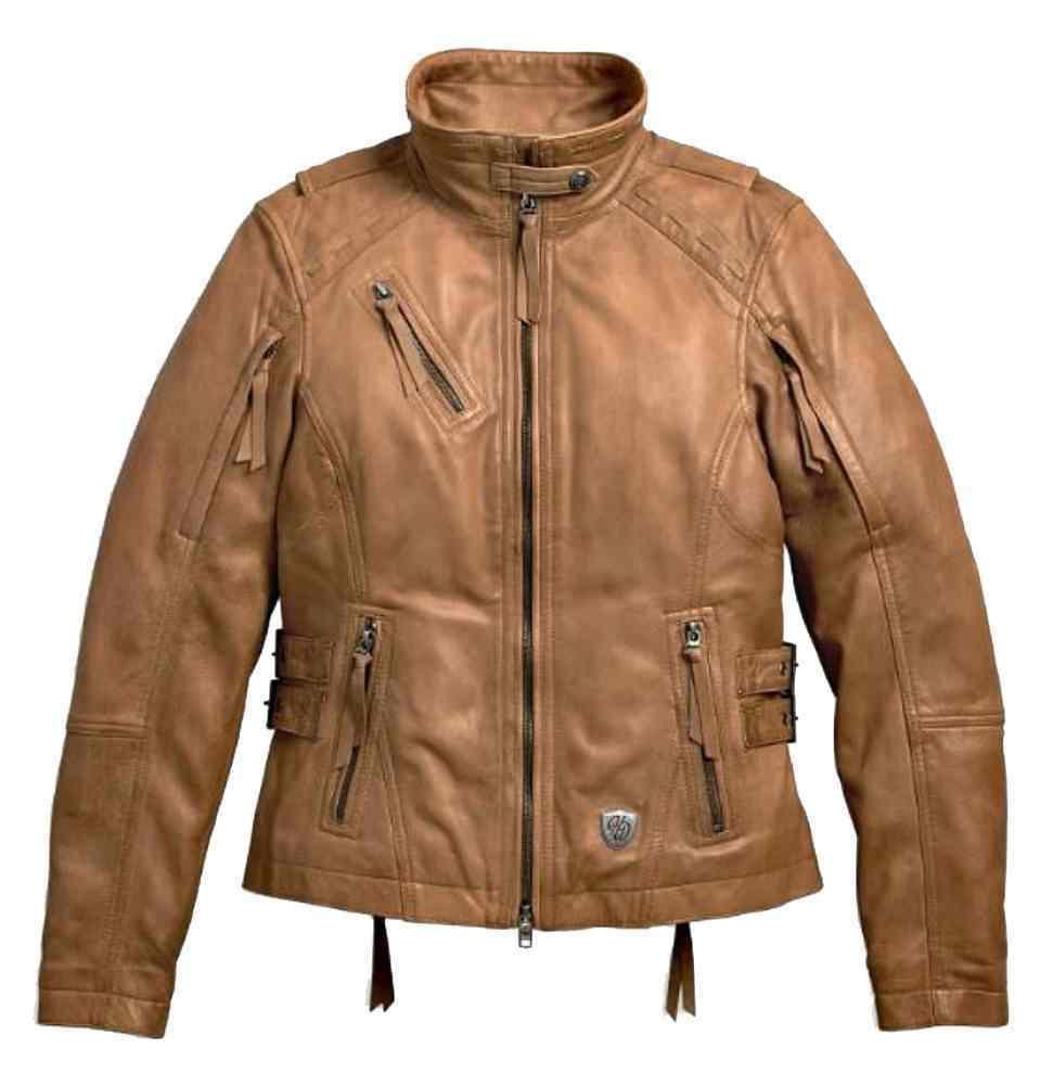 Harley Davidson Women S Calamity Fringe Leather Jacket Brown 97144 17vw Fringe Leather Jacket Leather Jacket Brown Leather Jacket [ 1001 x 971 Pixel ]