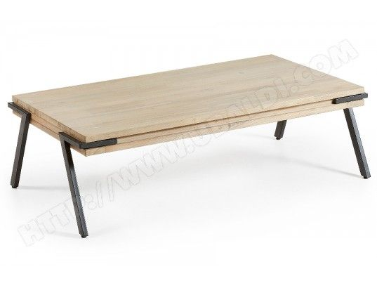 Table Basse Lf Disset Table Basse 70x120cm Table Basse Table Basse Bois Mobilier De Salon