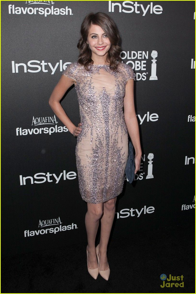 Willa Holland at the HFPA & InStyle Golden Globe Party   Willa ...