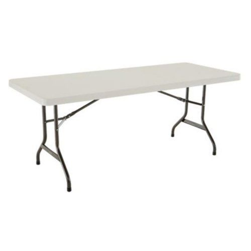 Lifetime 2900 6 Commercial Grade Table In Almond Quantity 4 By