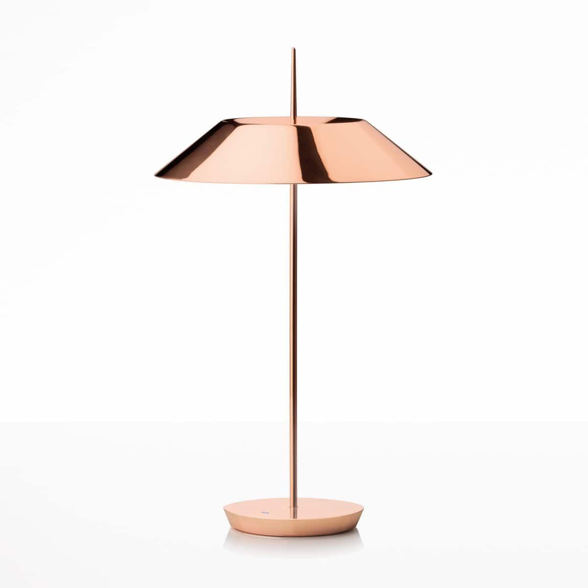 Vibia Mayfair 5505 Tischleuchte Kupfer Glanzend Tischleuchte Nachttischlampe Touch Lampen Gunstig