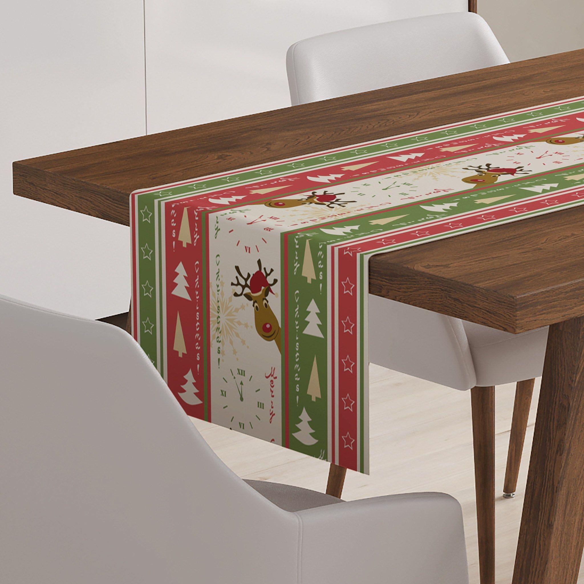 Elegant Christmas Table Runner