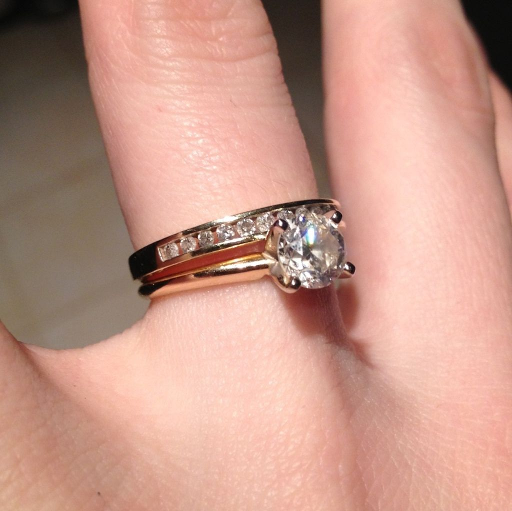 1 Carat Diamond Ring Picture 1 Carat Diamond Rings Whydeas