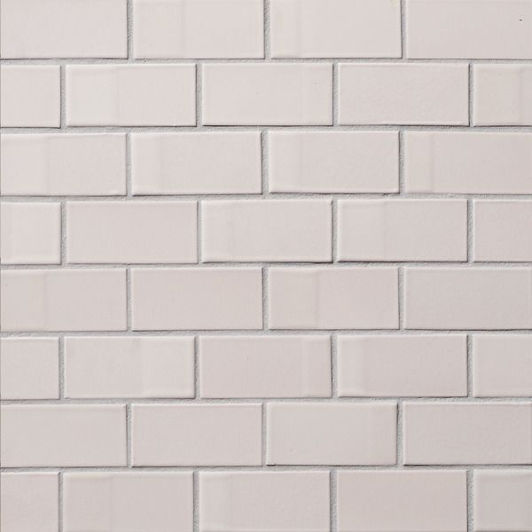 Heath ceramics dual glaze tile opaque white blend 6 for Heath tile