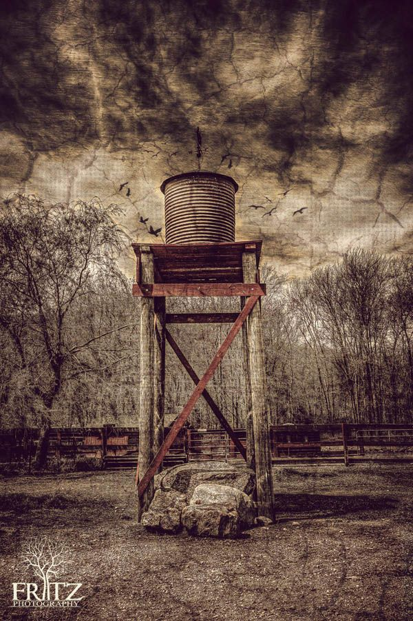 Water_Tower - HDR Mag