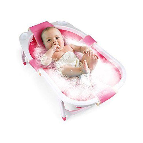 Fascol Baignoire Pliable Pour Bebe 0 36 Mois Avec Hamac De Bain