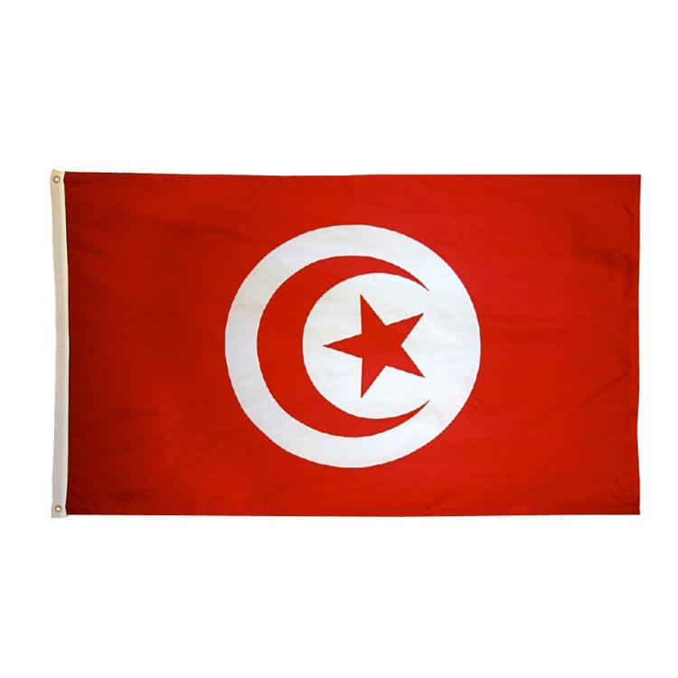 Cheap Custom Polyester High Quality 3 5 National Flag Country Flag Tunisia Flag Buy Cheap Custom Flag Tunisia Flag Polyester National Flag Product On Alibaba