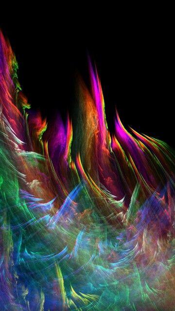 Fond d'écran - très coloré - abstrait
