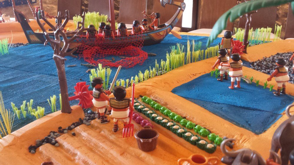 egipto diorama playmobil miniatures pinterest. Black Bedroom Furniture Sets. Home Design Ideas