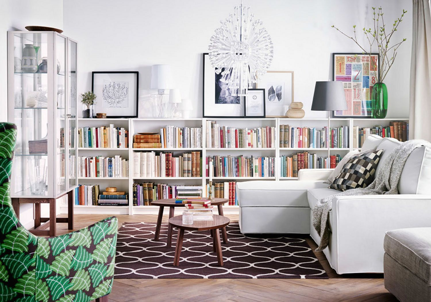 22 Most Creative Living Room Book Storage You Have To Know Ikea