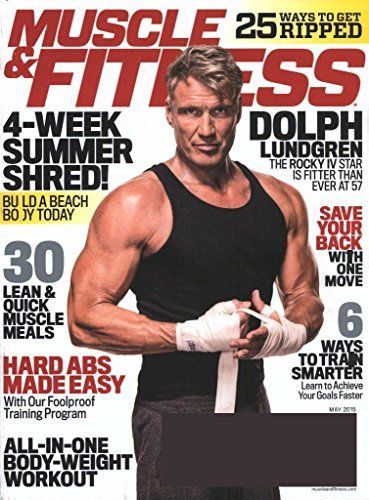884781efe75 Muscle   Fitness (1-year)  Print + Kindle