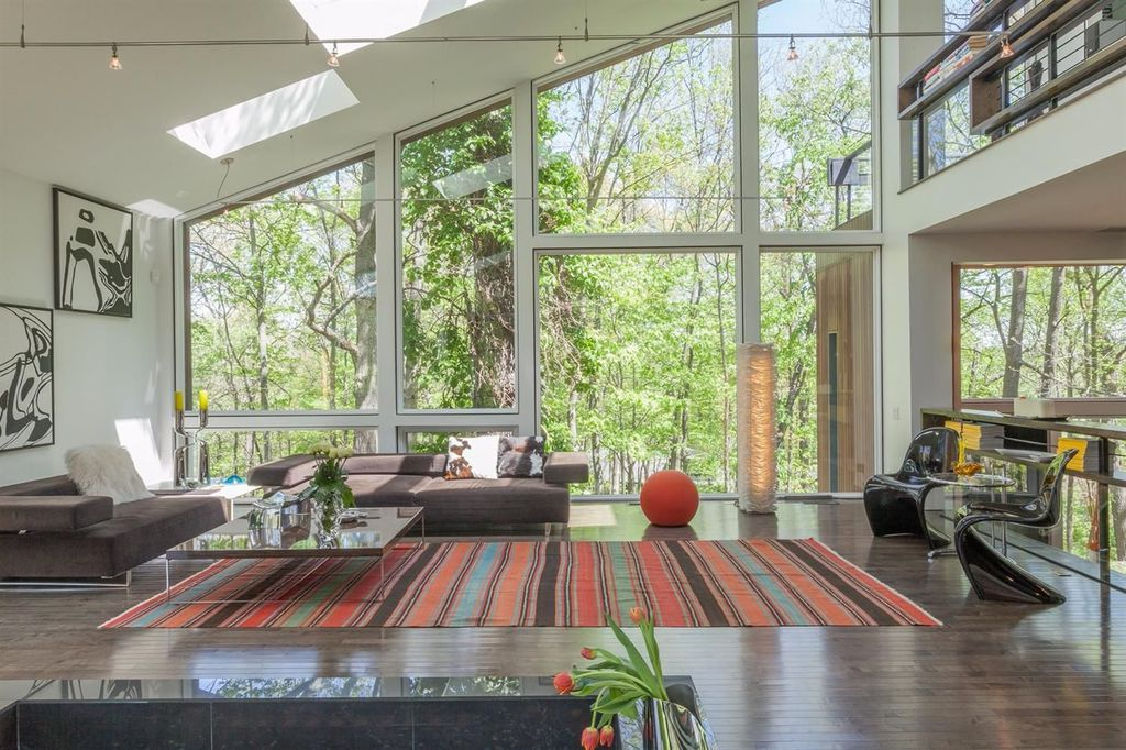 mid century modern homes for sale michigan
