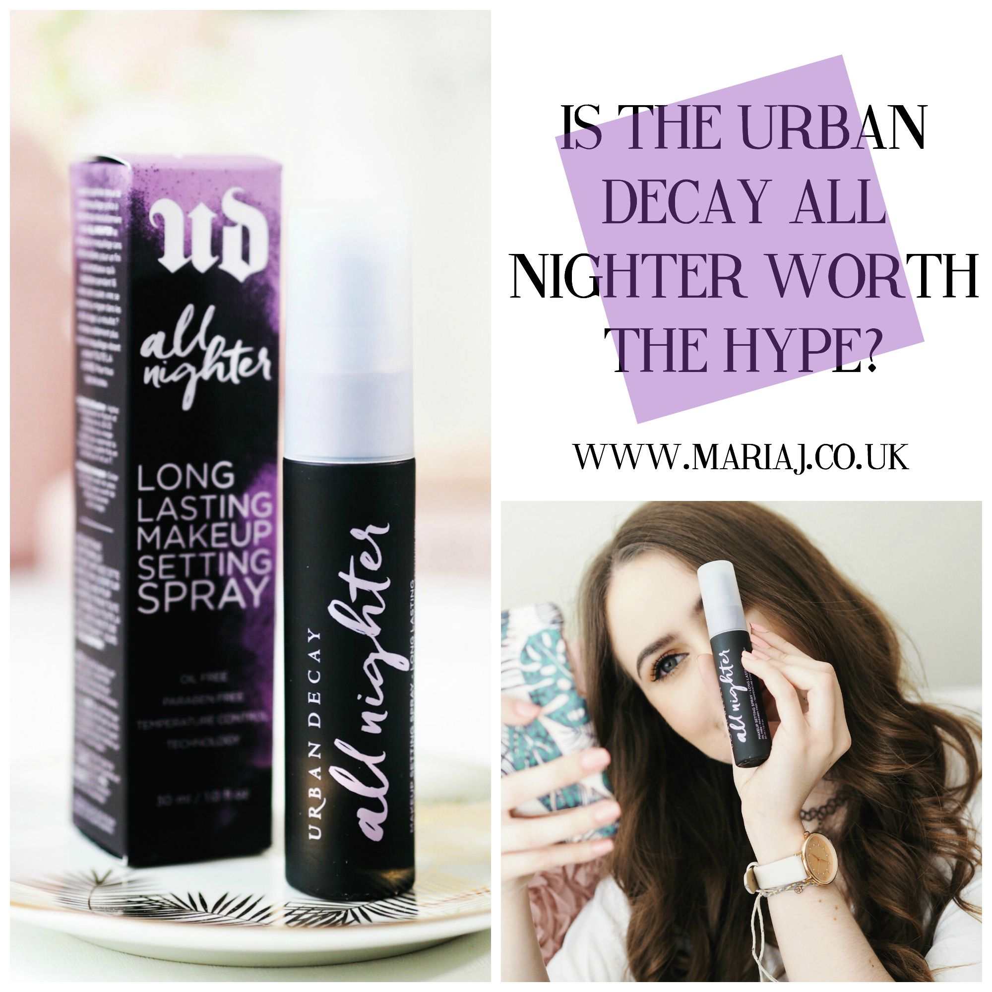 Urban decay all nighter setting spray, makeup tips, makeup