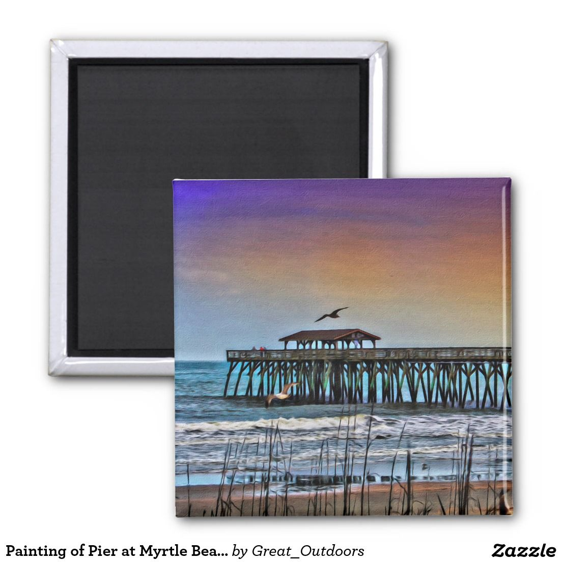 Painting of Pier at Myrtle Beach