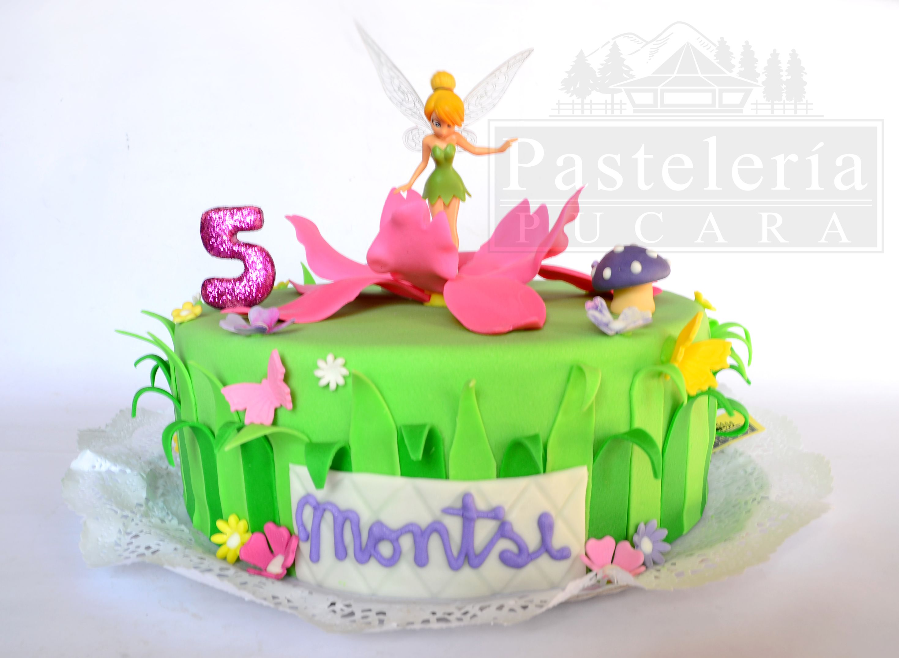 Torta diseo Campanita Tinkerbell cake Pastelera Pucara calera de