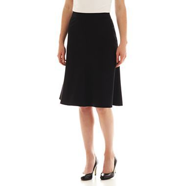 Liz Claiborne A-Line Black Skirt - $40 from JCPenney. Expensive; hmm. . . .
