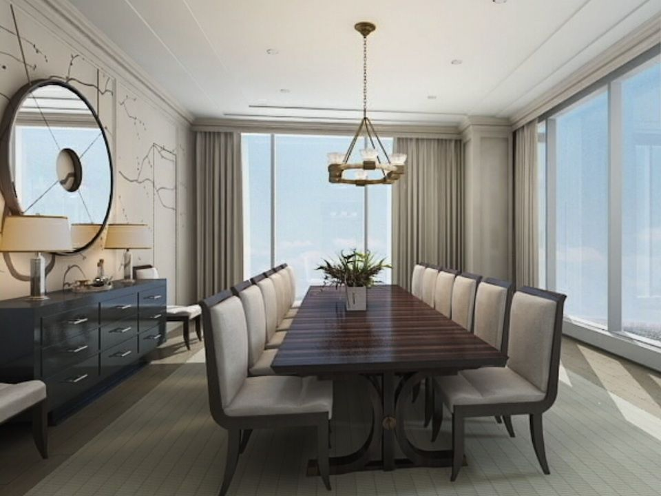 Four seasons hotel and private residences toronto for Best private dining rooms toronto