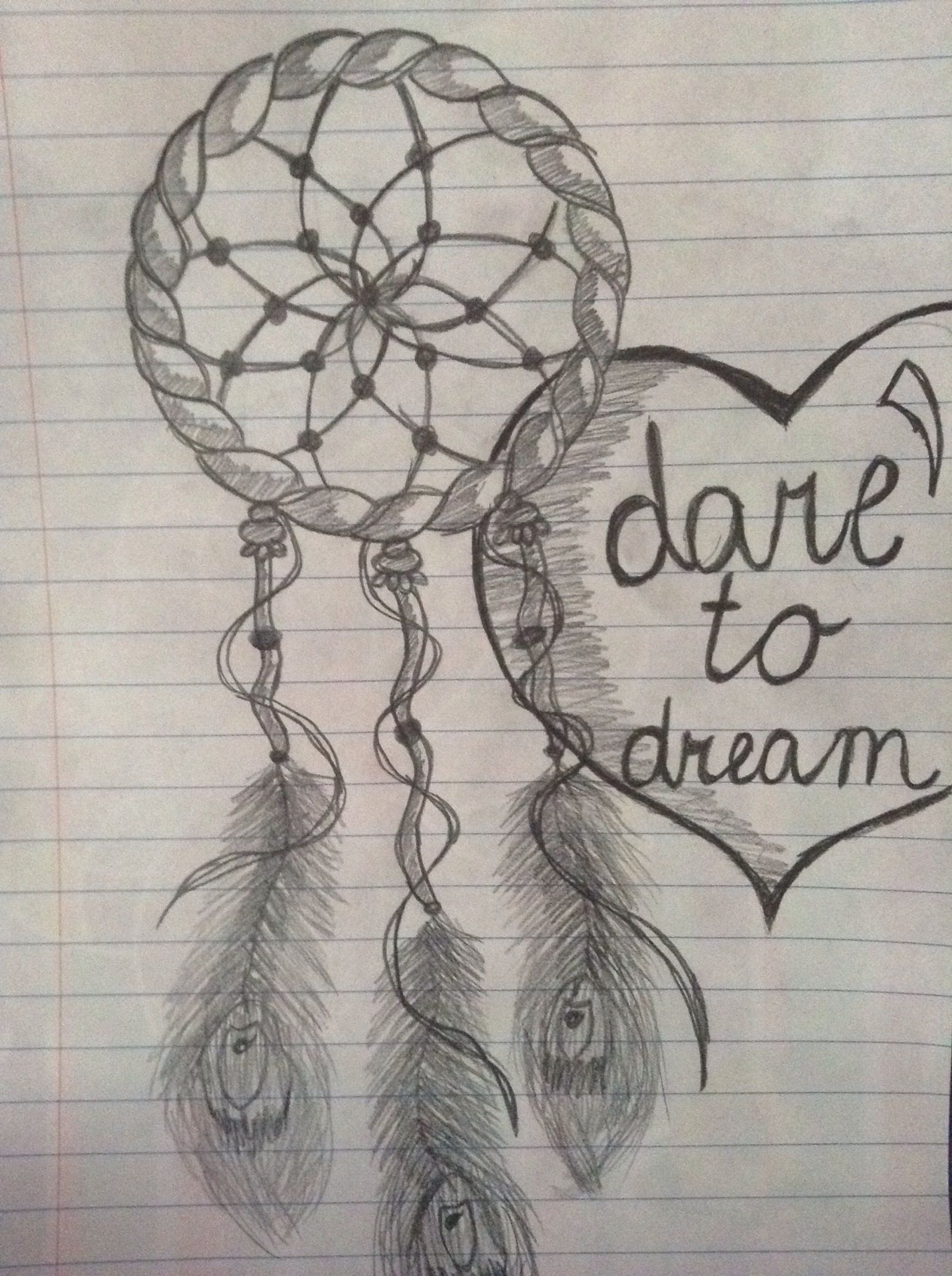 How To Draw A Dream Catcher Recipe Doodling Pinterest