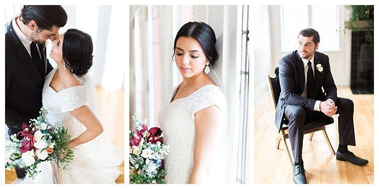 Romantic Photoshoot Modest Sullivan Gown | Modest Wedding Dress ...