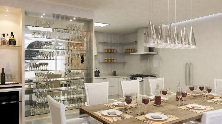 Sala De Jantar Inox E Vidro ~ de costura projeto arquitetonico  Pesquisa Google  Sala de Jantar