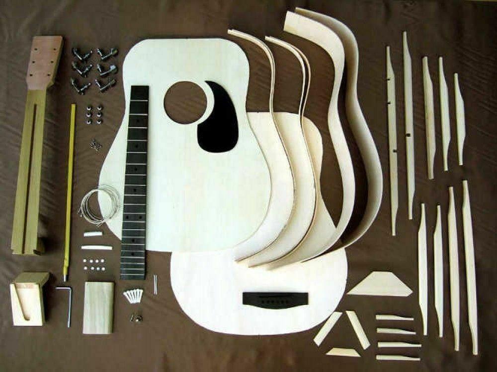 Hosco Gr Kit D2 Acoustic Guitar Kit Mahogany Back Side Fast Shipping Japan Ems Acoustic Guitar Ideas In 2020 Acoustic Guitar Kits Guitar Kits Best Acoustic Guitar