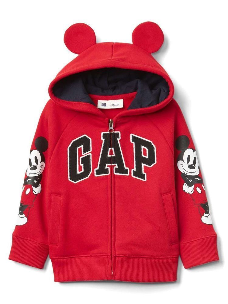 Gap Hoodie For Baby 6 12 Months Red Original Disney Mickey New With Tag Baby Clothes Shoes Accessories Boys Clothing 0 24 Months Ebay 디즈니