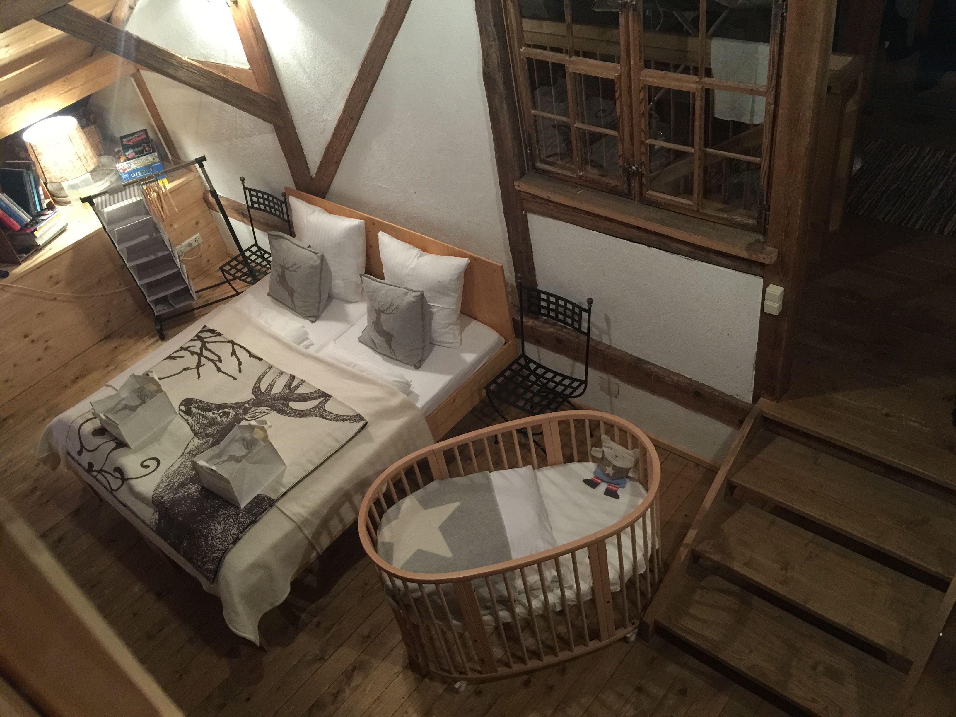 Bettenlager in Evelyn´s Hütte
