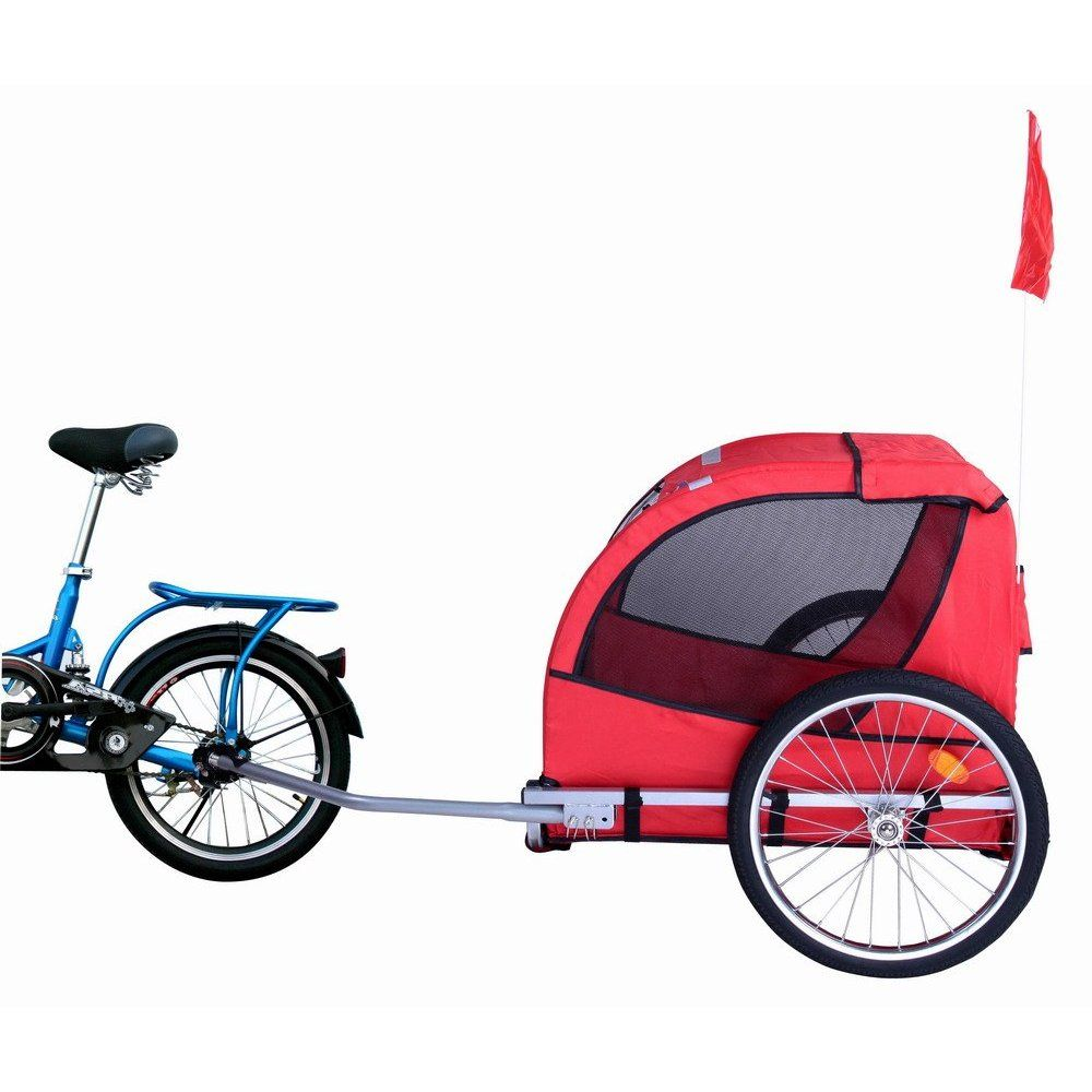 Dog bike trailer dog bike trailer biking with dog bike