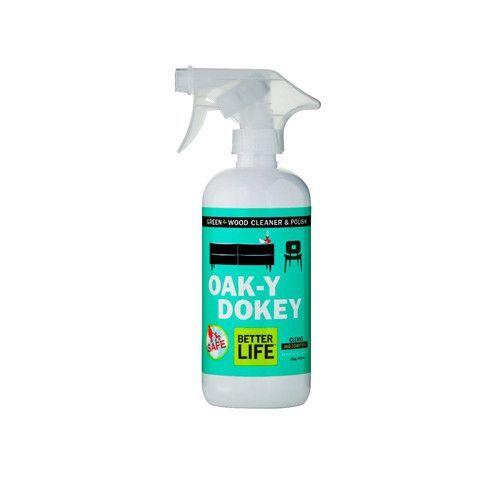 Better Life Oaky Doky Wood Cleaner And Polish 16 Fl Oz