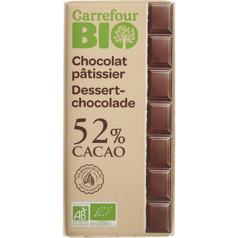 Chocolat Bio Pâtissier Carrefour Bio La Tablette De 200g à Prix Carrefour Chocolat Bio Chocolat Pâtissière