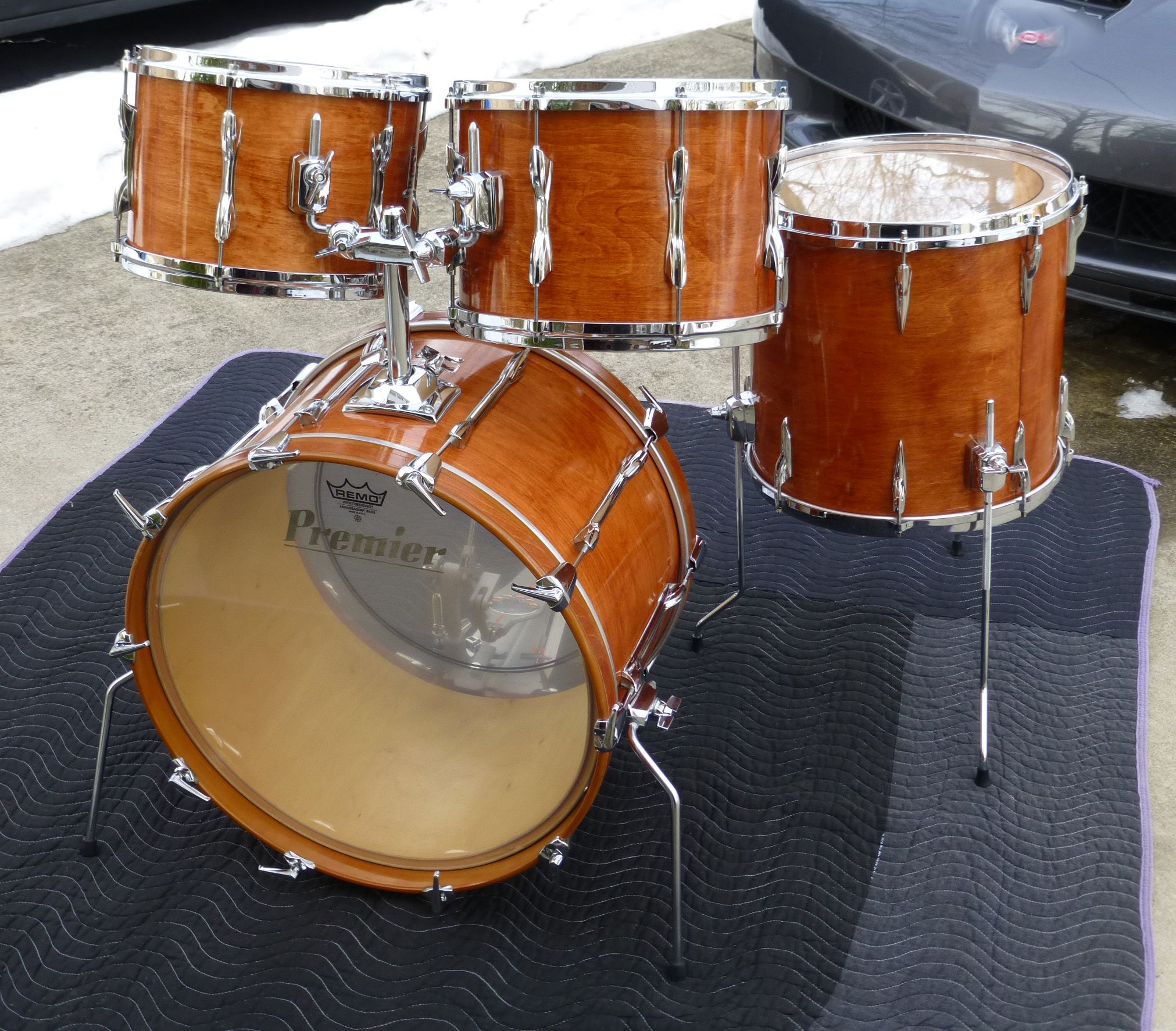 late 70s era premier resonator drums i also own a set of these drums in clear lacquer finish. Black Bedroom Furniture Sets. Home Design Ideas
