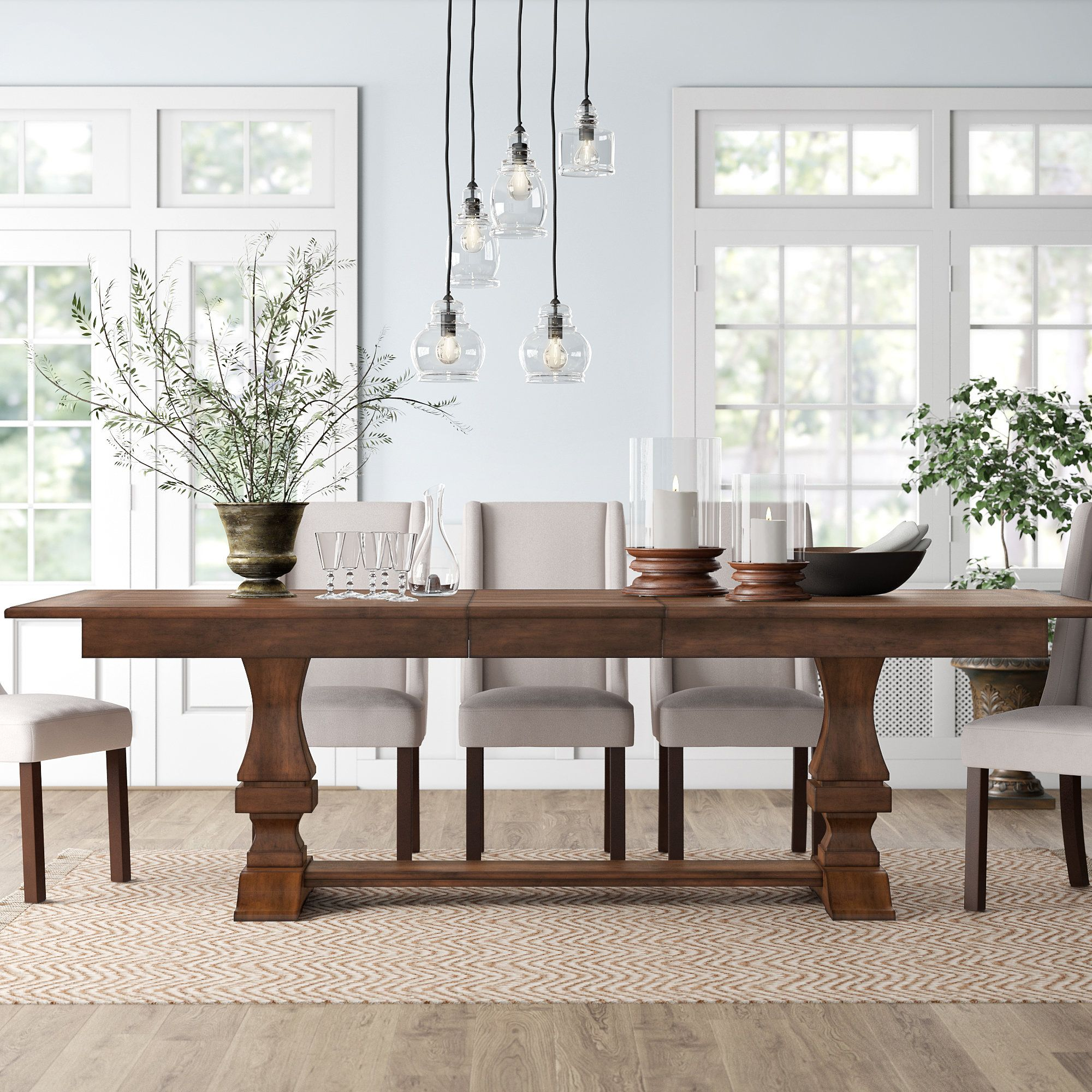 14 Stunning Industrial Kitchen Table And Chairs Ideas Wood Dining Table Extendable Dining Table Dining Room Table