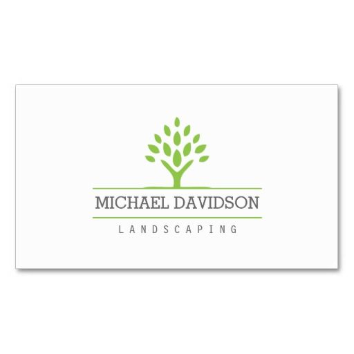 Professional tree landscaping lawn service tree care gardener professional tree landscaping lawn service tree care gardener business card template personalize reheart Images