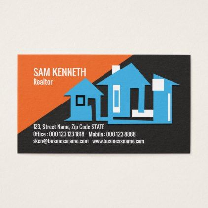 Elegant Creative Cly Realtor Business Card Office Gifts Giftideas