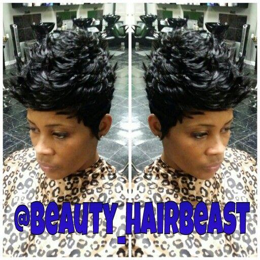 Quick Weave 27 Piece Soft Curls Quick Weave Hairstyles Curly Hair Styles Curly Crochet Hair Styles