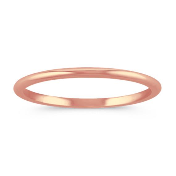 14k Rose Gold Wedding Band 1mm 14k Rose Gold Wedding Band Rose Gold Wedding Bands Gold Wedding Band