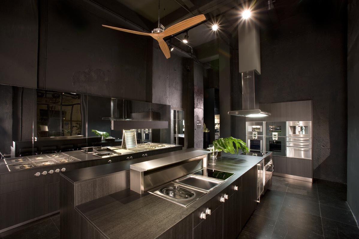 gaggenau kitchen | BOFFI kitchenLab Barberini Roma | Kitchens ...