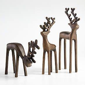 Brass Reindeer | Crate and Barrel Brass 5