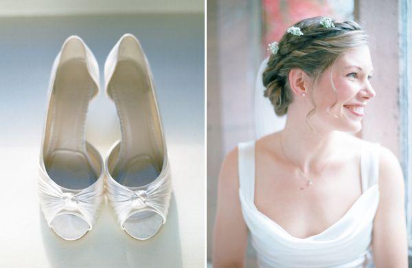 A David Fielden Dress for an Elegant Autumn Wedding Photographed on Film | Love My Dress® UK Wedding Blog