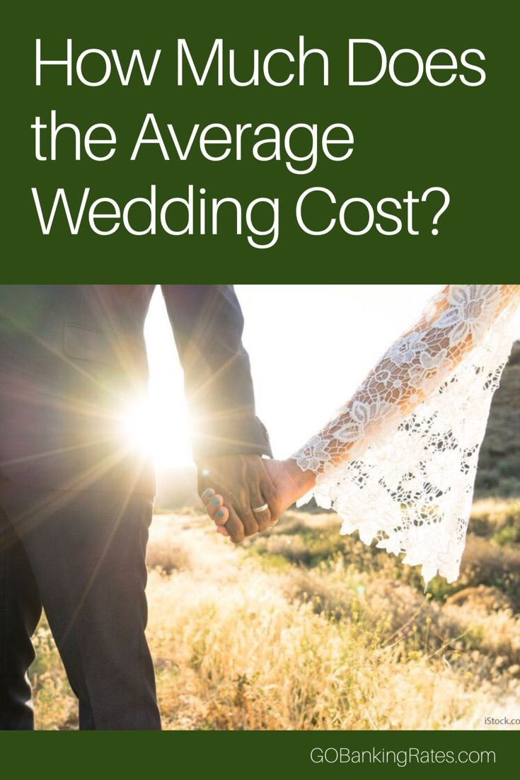 How does the number of guests impact average wedding cost?
