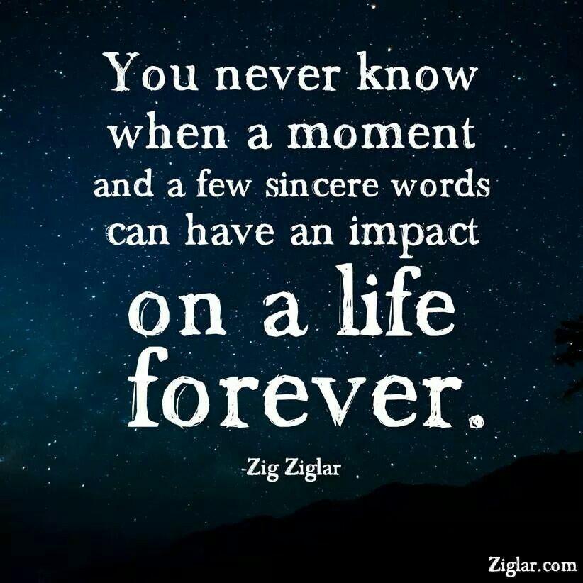 Make an impact for life