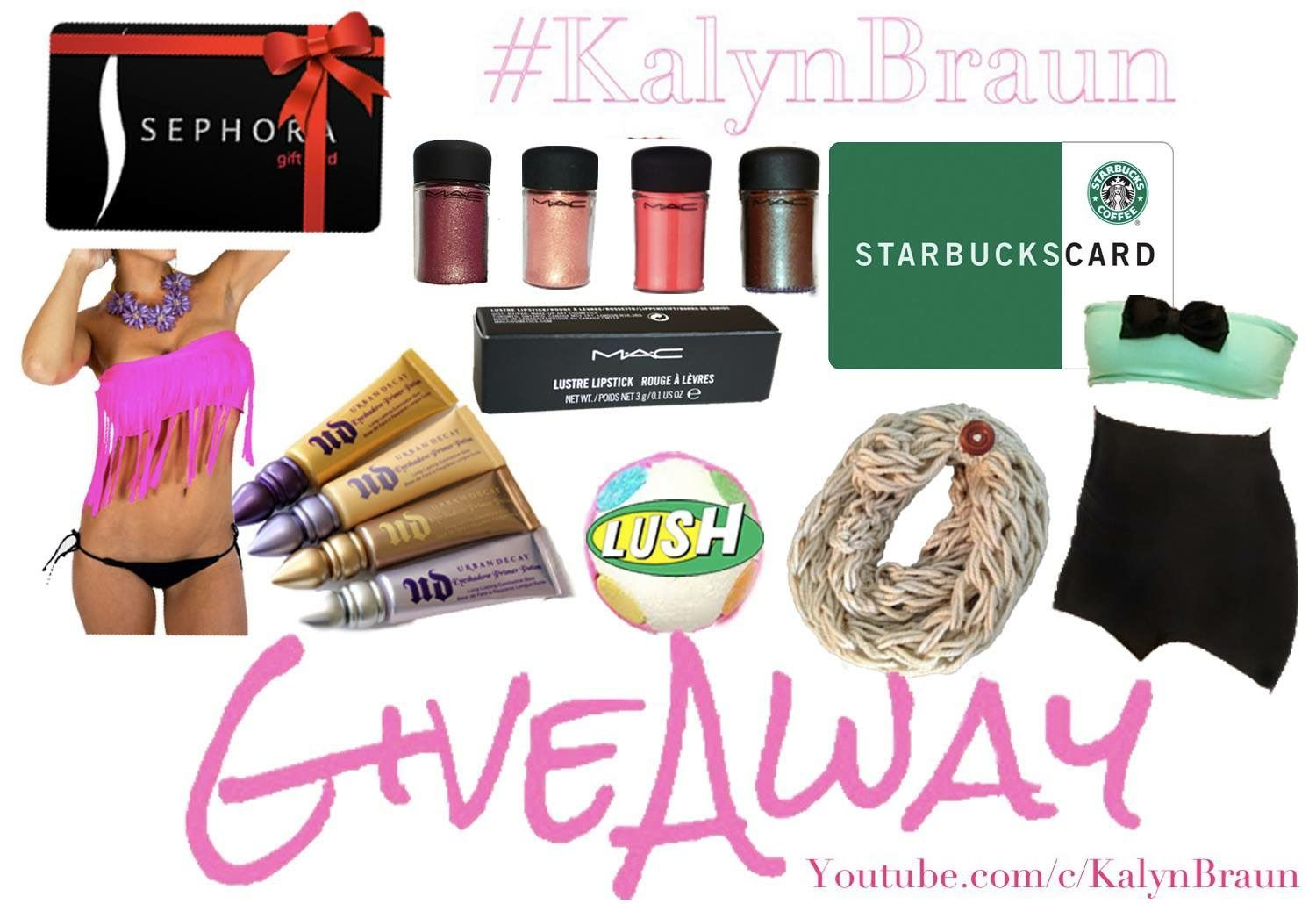 Giveaway Rules  New Video! Be sure to watch if you want to enter my HUGE GIVEAWAY! XOX <3